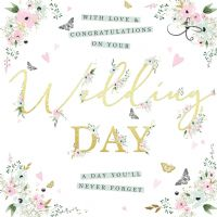 Handcrafted - Card - Wedding Day